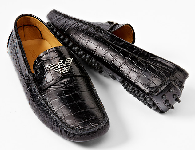 Upscale Style: Shoes feat. Armani at MYHABIT
