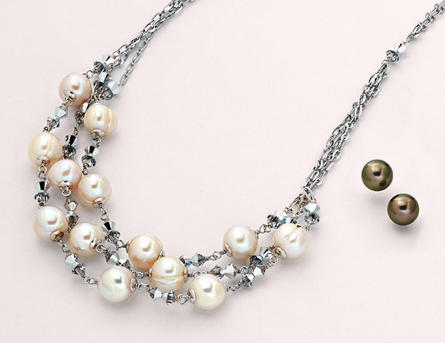 Valentine's Day Gifts: Radiance Pearl Jewelry at MYHABIT