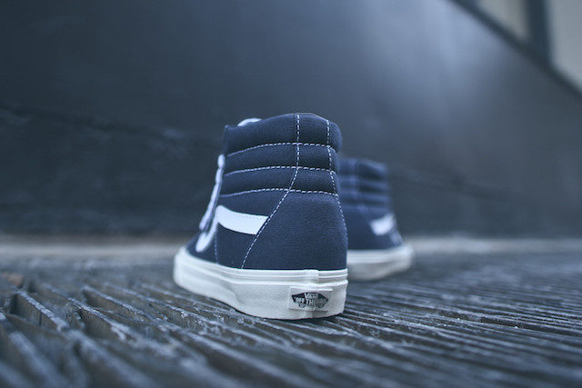 Vans SK8-Hi Reissue 10 Oz Canvas Dress Blues_2