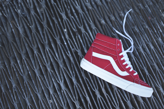 Vans SK8-Hi Reissue 10 Oz Canvas Tango Red