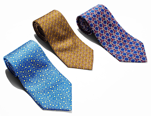 Vintage Hermés Ties at MYHABIT