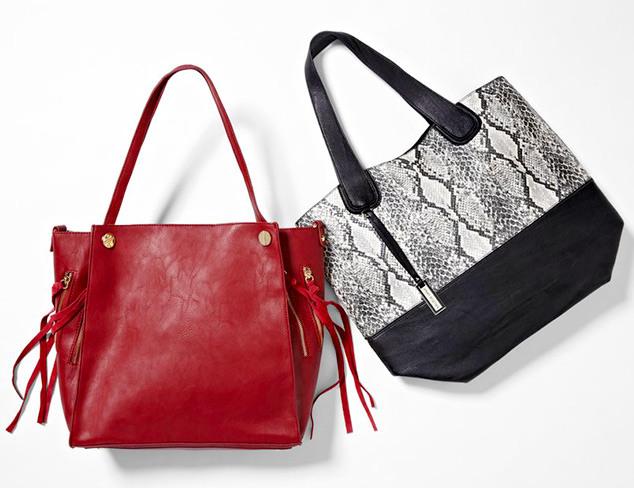 Wardrobe Essentials: Totes & Carryalls at MYHABIT