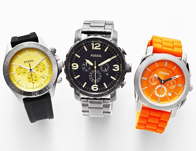 Watches feat. Fossil at MYHABIT