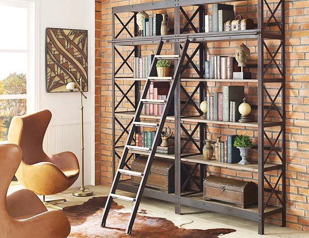 Wood & Metal: Industrial Furniture at MYHABIT