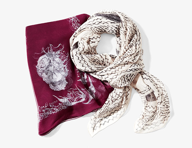 Alexander McQueen Scarves & More at MYHABIT