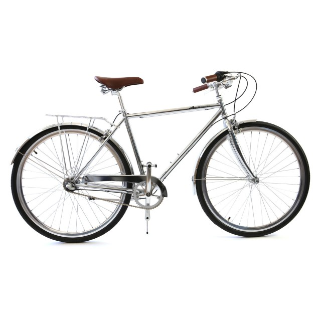 Atir Cycles // 3 Speed City Bike // Chrome