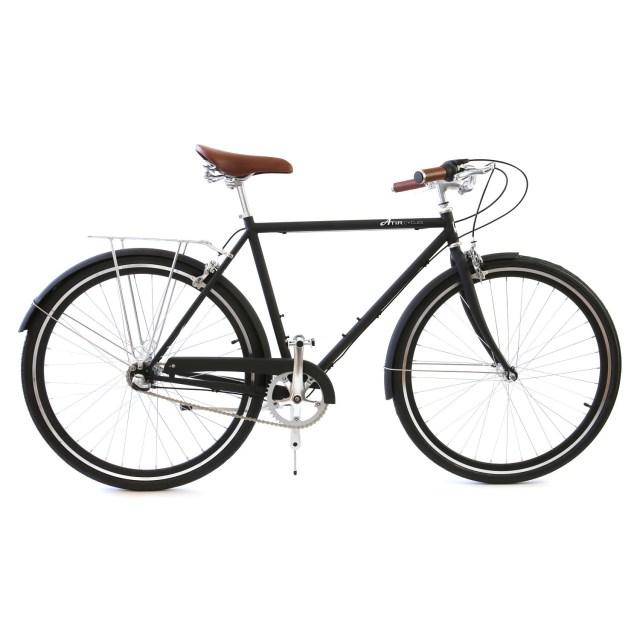 Atir Cycles // 3 Speed City Bike // Matte Black