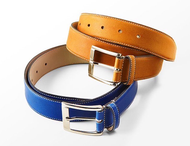 Belts feat. A. Testoni at MYHABIT