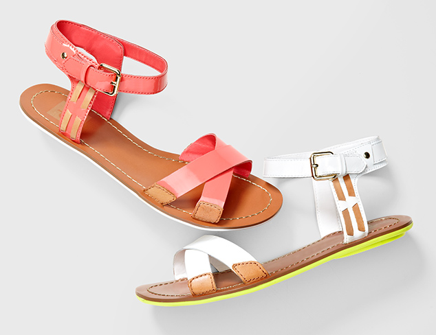Essential for Spring: The Open Sandal at MYHABIT