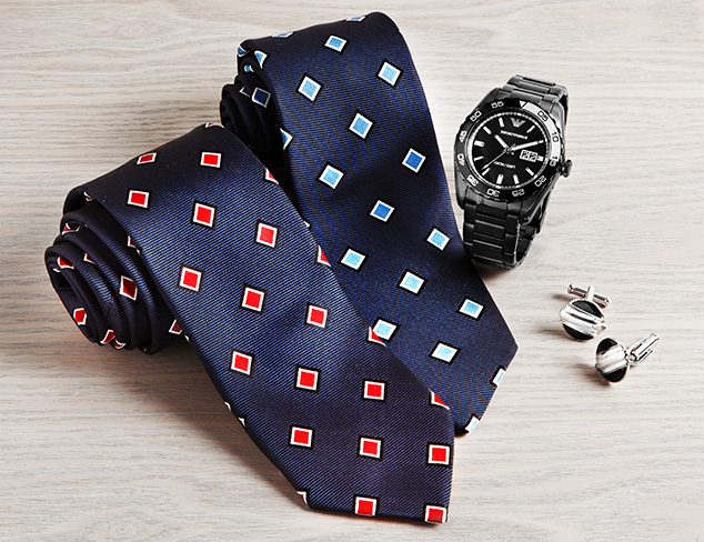 Finishing Touches: Ties, Watches & More at MYHABIT