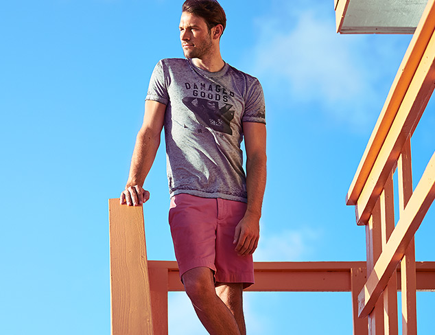 Get Out of Town: Tees & Shorts feat. Kinetix at MYHABIT