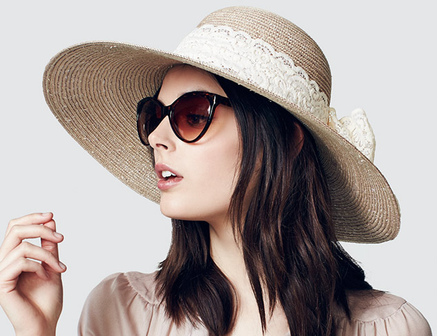 Headed for Spring: Straw Hats & More at MYHABIT