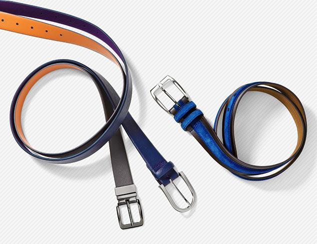 Ike Behar Belts at MYHABIT