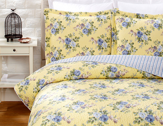 Laura Ashley Bedding & Bath at MYHABIT