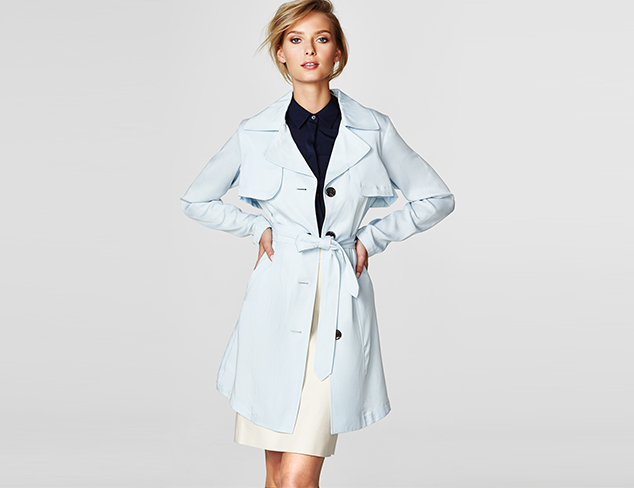 Lightweight Outerwear feat. Vince Camuto at MYHABIT