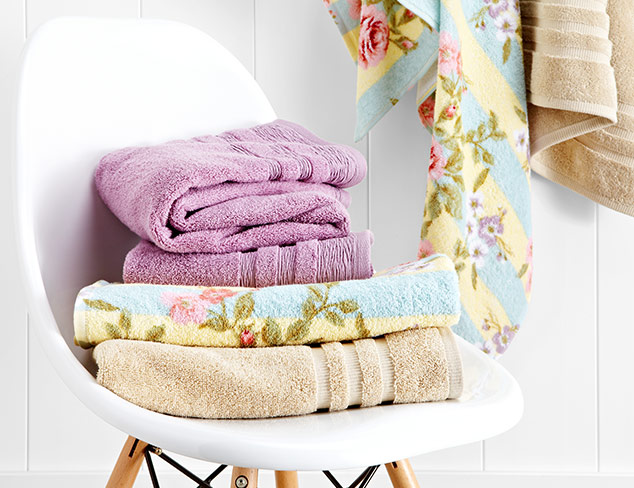 Maisonette Bath Linens at MYHABIT