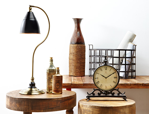 New Markdowns: Rustic Décor at MYHABIT