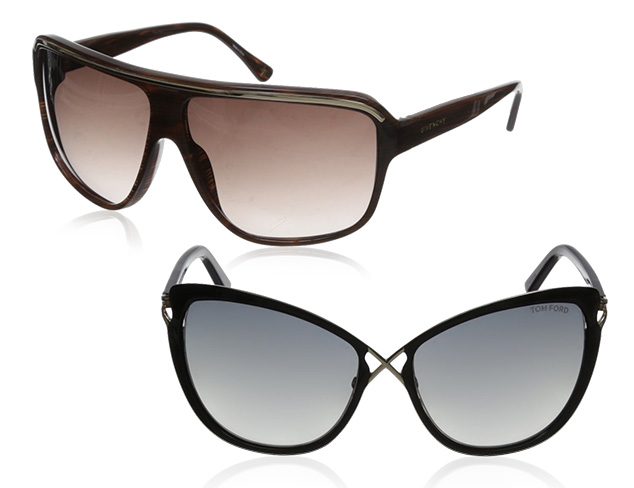 Oversize Sunglasses feat. Givenchy at MYHABIT