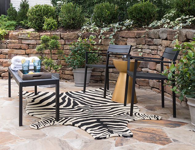 Patio Prep: All-Weather Rugs at MYHABIT