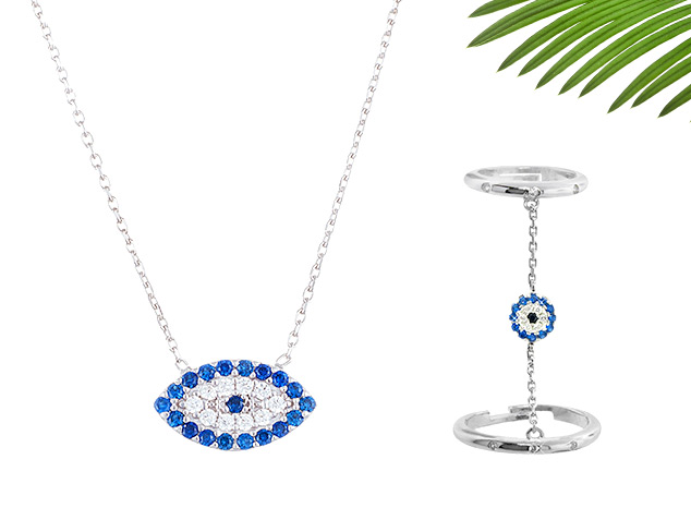 Positive Vibes: Hamsa & Evil Eye Jewelry at MYHABIT