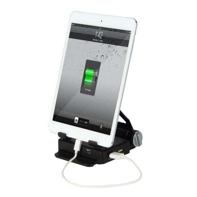 Pilot Electronics Power Station 9000mAh Tablet Holder