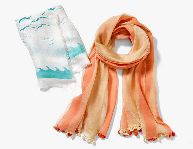 Spring Scarves: Carolina Amato & More at MYHABIT