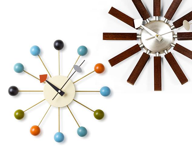 Spring Time: Mid-Century Modern Clocks at MYHABIT