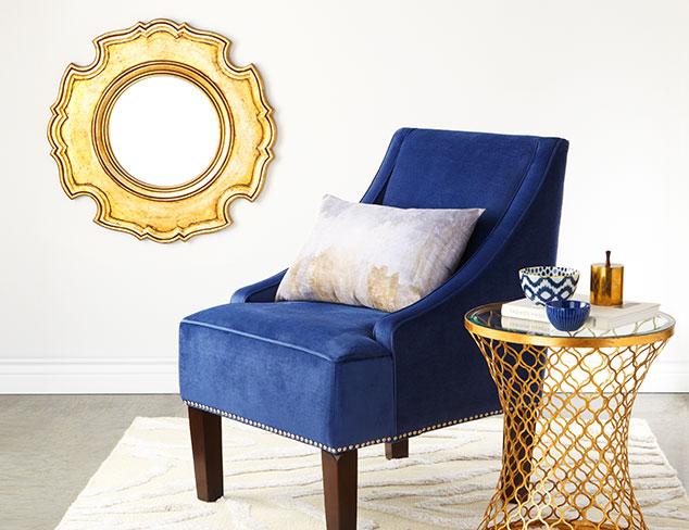 Spring Update: Indigo & Gold Furniture & More at MYHABIT