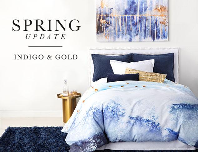 Spring Update: Indigo & Gold at MYHABIT