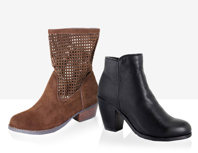 Under $60: Intaglia & San Jacinto Booties at MYHABIT