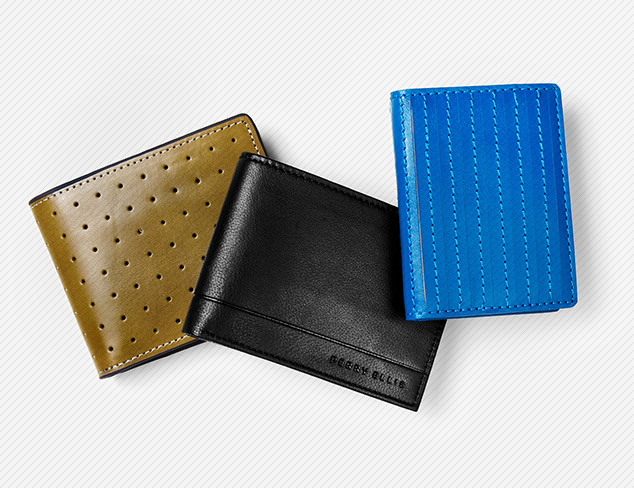 Wallets & More feat. Perry Ellis at MYHABIT