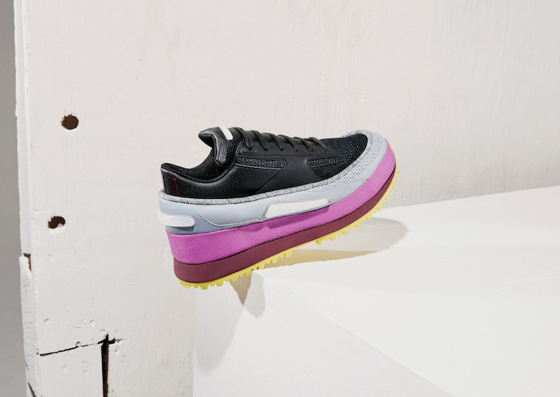 adidas x Raf Simons Platform Light-Up Sneakers