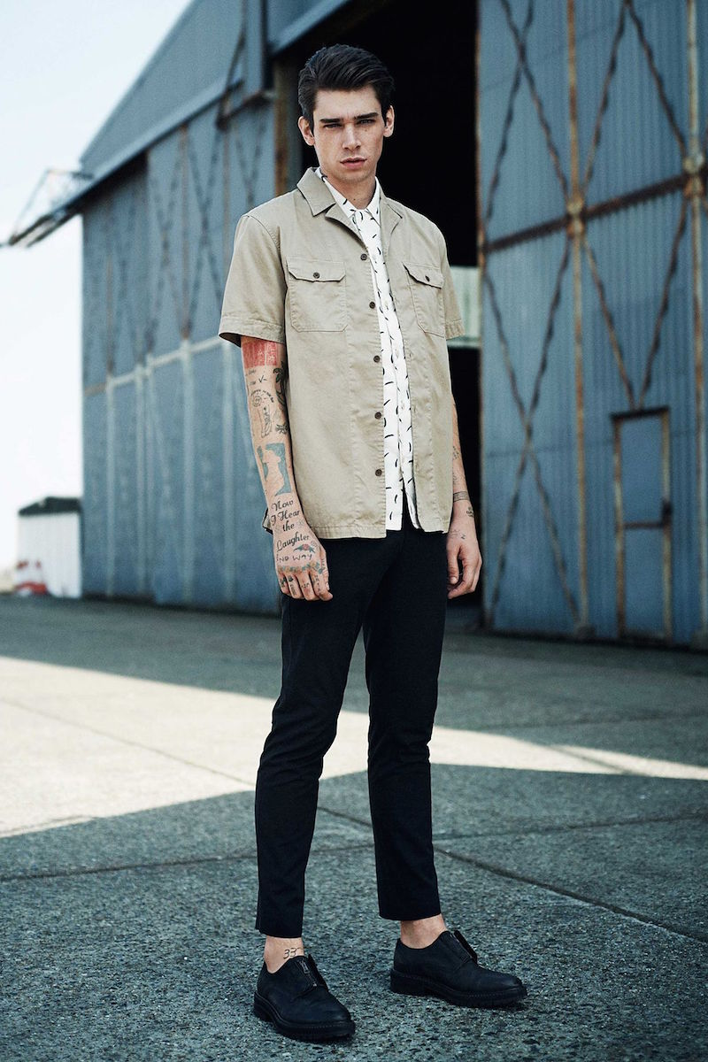 AllSaints Haze Sleeved Shirt