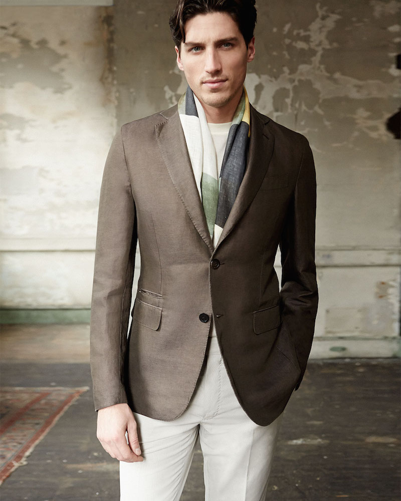 Berluti Deconstructed Soft Jacket