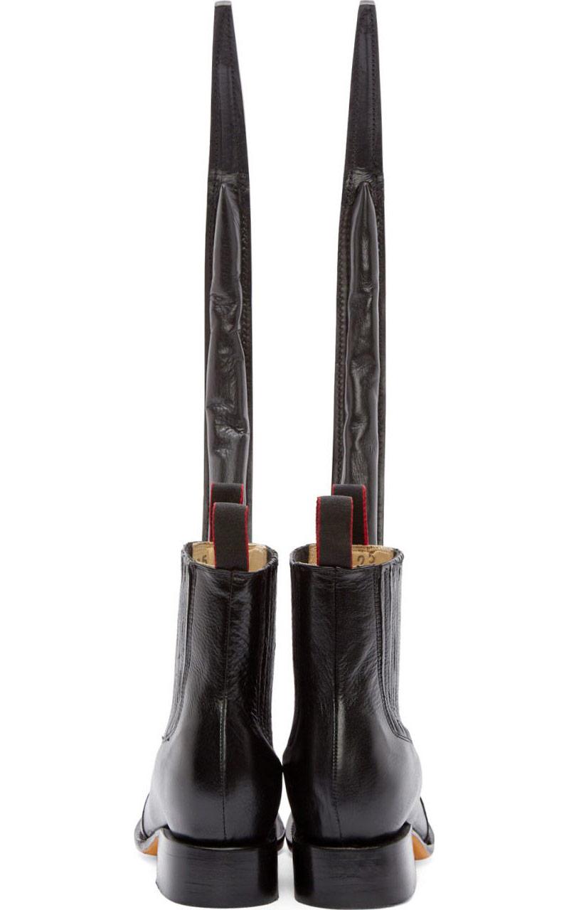 Comme des Garçons Homme Plus Leather Guarachero Boots_4