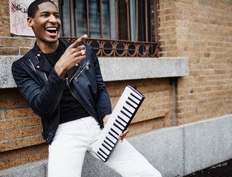 Pitch Perfect: Ralph Lauren Black Label Spring 2015 Lookbook feat. Jon Batiste