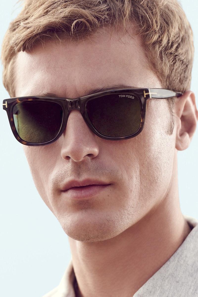 Tom Ford Leo 52mm Polarized Sunglasses