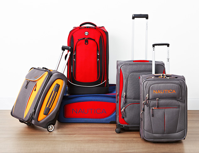 70% Off & More: Nautica & Timberland Luggage at MYHABIT