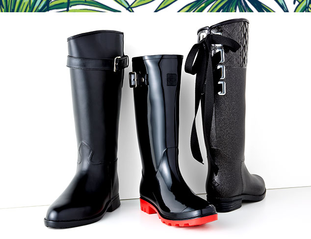 April Showers: Rain Boots at MYHABIT