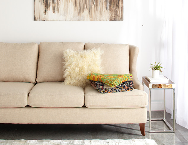 Contemporary Living Room at MYHABIT