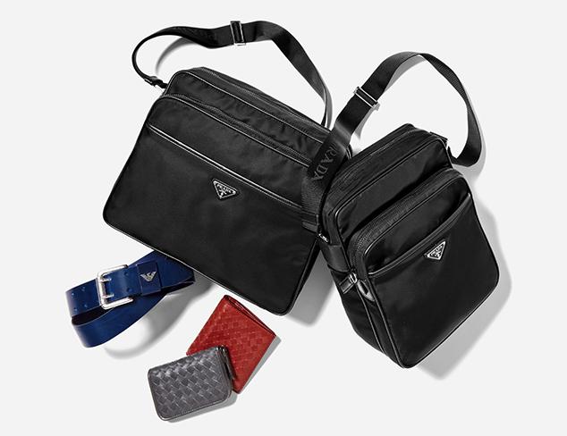 Designer Accessories feat. Prada at MYHABIT