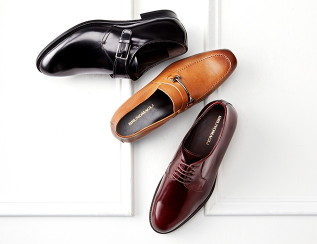 Dress Shoes feat. Bruno Magli at MYHABIT