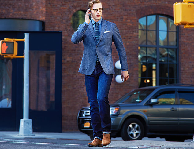 How to Wear Denim: To the Office at MYHABIT