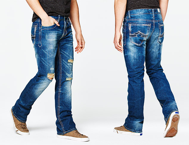 Just $39: Antique Rivet Jeans at MYHABIT