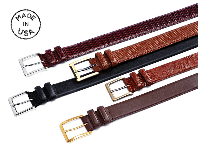 Made In USA: Lejon Belts at MYHABIT