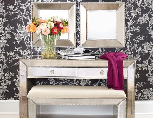 Marbled & Mirrored Furniture at MYHABIT