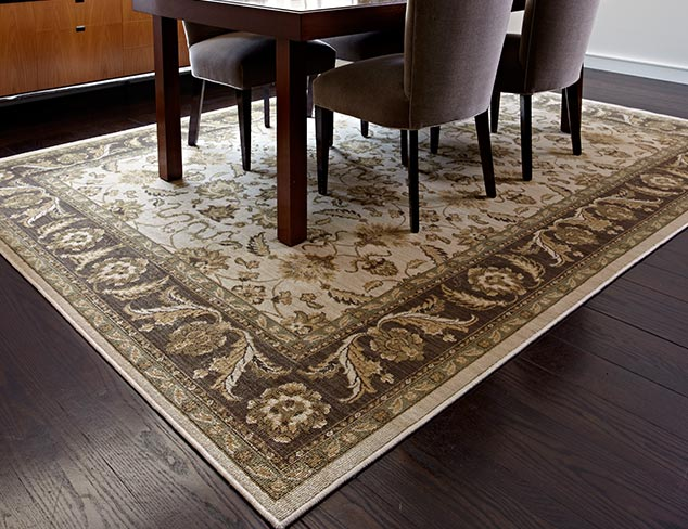 Old-World Inspired: feat. Savonnerie Rugs at MYHABIT