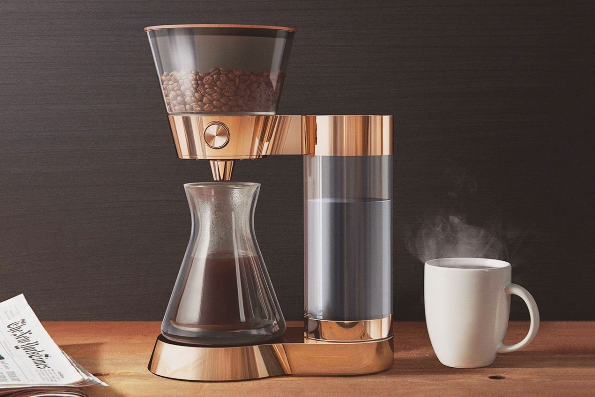 Poppy Pour-Over Smart Artisanal Coffee Machine