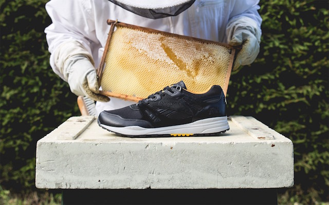 Sneakersnstuff x Reebok Ventilator Bees & Honey_2
