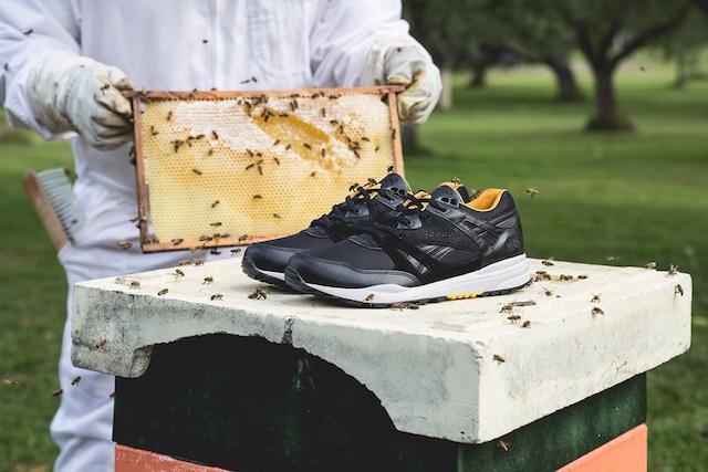 Sneakersnstuff x Reebok Ventilator Bees & Honey_3